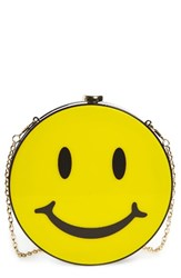 Natasha Couture Smiley Clutch