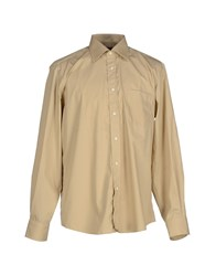 Boss Black Shirts Shirts Men Beige