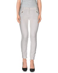 Atos Lombardini Trousers Casual Trousers Women White