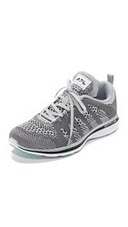 Apl Athletic Propulsion Labs Techloom Pro Sneakers Silver Black