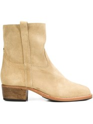 Jerome Dreyfuss 'Jane' Boots Nude And Neutrals