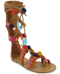 Mia Reanna Flat Gladiator Sandals Women's Shoes Natural