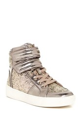 Aldo Brie High Top Sneaker Metallic