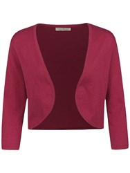 Seasalt Egloskerry Cropped Cardigan Rosa