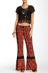 Band Of Gypsies Printed Flared Pant Multi