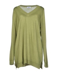 Base London Base Sweaters Military Green