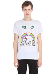 Lucabee Rainbow Printed Cotton Jersey T Shirt