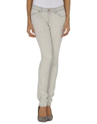 Superfine Denim Pants Light Grey