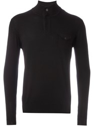 Paolo Pecora Roll Neck Sweater Brown