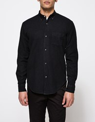Our Legacy 50'S Shirt Solid Black Oxford