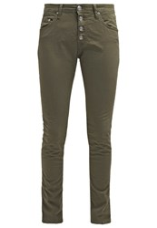 Replay Pilar Relaxed Fit Jeans Oliv Dark Green