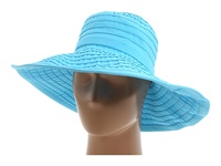 San Diego Hat Company Rbl299 Crushable Ribbon Floppy Hat Aqua Traditional Hats Blue