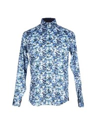 Bogosse Shirts Shirts Men Blue