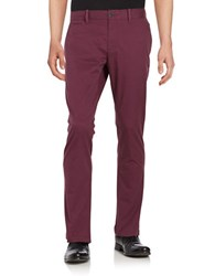 Original Penguin Slim Fit Chino Pants Mauve Wine