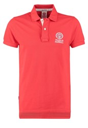 Franklin And Marshall Regular Fit Polo Shirt Comets Red