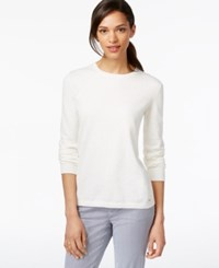 Tommy Hilfiger Beaded Crew Neck Sweater