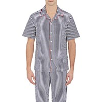Sleepy Jones Men's Striped Henry Pajama Top No Color