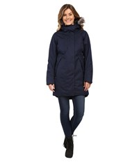 The North Face Crestmont Parka Urban Navy Slub Women's Coat