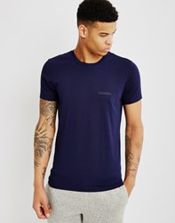 Calvin Klein Modal Lounge Top Blue