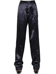 Maison Martin Margiela Oversized Double Silk Satin Pants