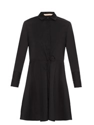 Brock Collection Darleen Cotton Voile Dress Black