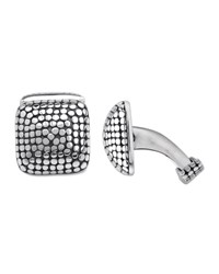 Dot Square Dome Cuff Links John Hardy Blue