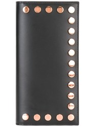 Givenchy Studded Flap Wallet Black