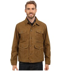 Filson Westlake Waxed Jacket Dark Tan Men's Coat Brown