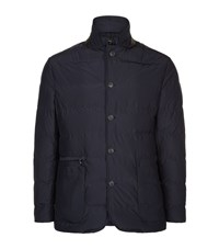 Corneliani Quilted Id Blazer Male Navy