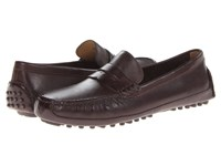 Cole Haan Grant Canoe Penny T Moro Men's Slip On Shoes Black