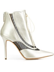 Derek Lam 'Harlow' Booties Metallic