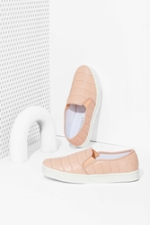 Nasty Gal Report Keelin Slip On Sneaker Blush