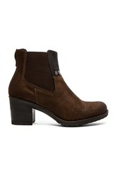 G Star Debut Ankle Gore Bootie Brown