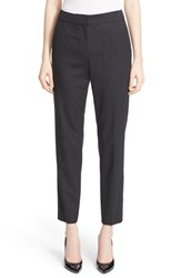 St. John Women's Collection 'Emma' Stretch Flannel Crop Pants