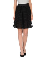 Maison Rabih Kayrouz Skirts Knee Length Skirts Women Black
