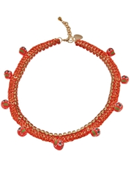 Venessa Arizaga '1979' Necklace Yellow And Orange