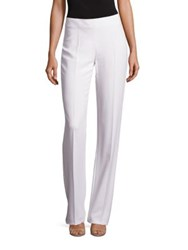 Antonio Berardi Straight Leg Pants White