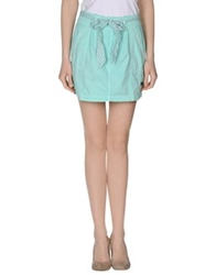 Portobello By Pepe Jeans Mini Skirts Turquoise