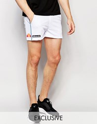 Ellesse L.S Retro Shorts White