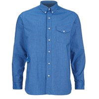 Garbstore Men's Fall Long Sleeve Shirt Blue