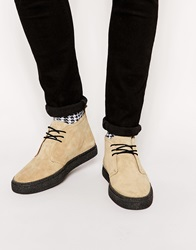Fred Perry Laurel Wreath Hawley Suede Chukka Boots Brown