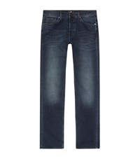 7 For All Mankind The Straight Luxe Performance Jeans Male Blue