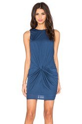 Twenty Perfect Modal Twisted Dress Navy