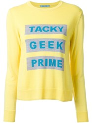 Guild Prime 'Tacky Geek Prime' Jumper Yellow And Orange