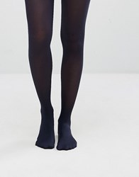 Jonathan Aston 40 Denier Simply Colour Tights Navy Blue Black