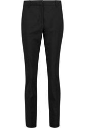 Pringle Stretch Wool Tapered Pants Black
