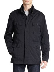 Cole Haan City Rain 2 In 1 Utility Jacket Black