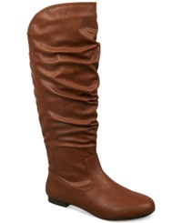 Fergalicious Jackpot Tall Shaft Slouch Boots Women's Shoes Brown