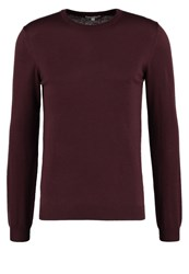 Reiss Hart Jumper Plum Purple