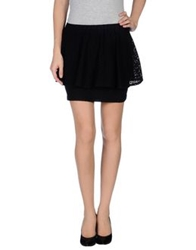 Bel Air Mini Skirts Black
